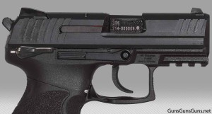 HK P30SKS with safety right side photo