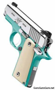 Kimber Micro Bel Air left rear photo