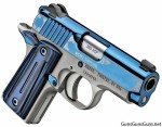 Kimber Micro Sapphire right front photo