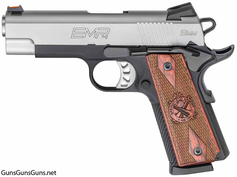 Springfield Armory EMP 4inch Lightweight Champion left side photo