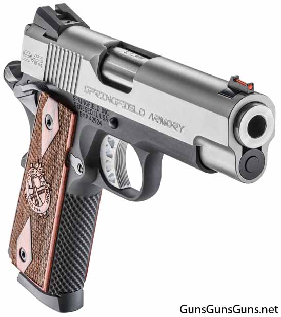 Springfield Armory EMP 4inch Lightweight Champion right front photo
