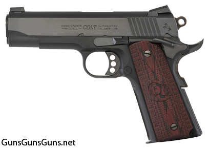 Colt Lightweight Commander left side photo