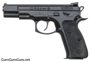 CZ 75 B Omega Convertible left side