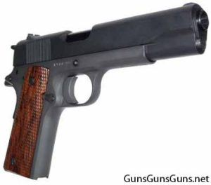 High Standard GI 1911 right side photo