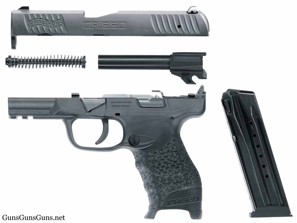 walther-creed-disassembled photo
