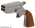 iver-johnson-pocket-ace-walnut-grips-left-side photo