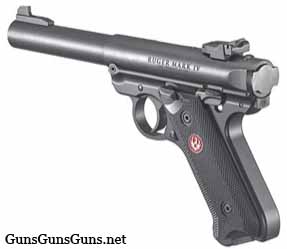 ruger-mark-iv-target-blued-left-side photo