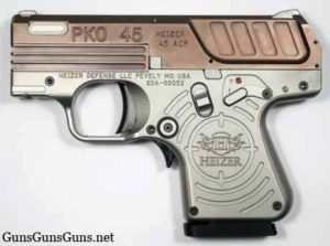 Heizer Defense PKO 45 copperhead left photo