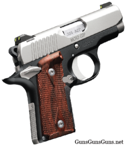 Kimber Micro 9 CDP lasergrip right side photo