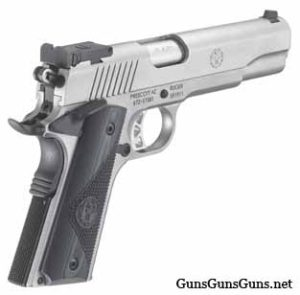 Ruger SR1911 Target right rear photo