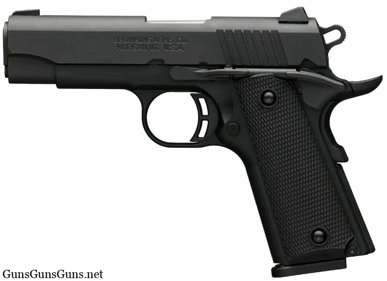 Browning Black Label Compact left side photo