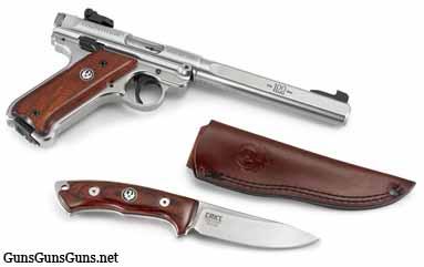 Ruger Mark IV Competition knife sheath photo