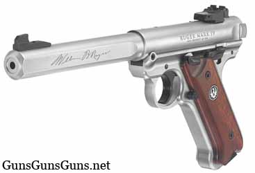 Ruger Mark IV Competition left front photo
