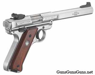Ruger Mark IV Competition right rear photo