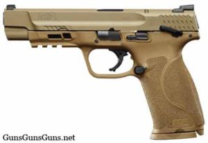 Smith Wesson MP M2 FDE long safety left side photo