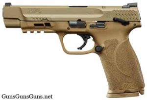 Smith Wesson MP40 FDE safety left side photo