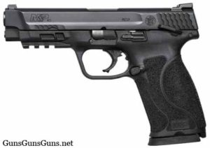 Smith Wesson MP45 black safety left side photo