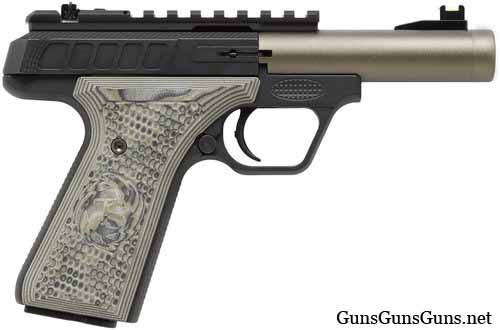 Tactical Solutions TLP22 4inch noflutes green right side photo
