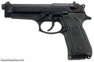 Beretta 92G left side photo