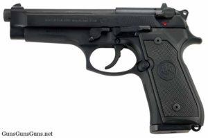 Beretta 92G left side photo