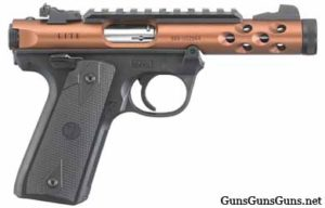 Ruger Mark IV 2245 Lite bronze right side photo