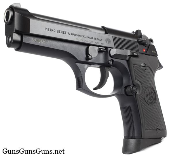 Beretta 92 Compact left front photo