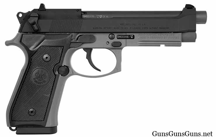 Beretta 92FSR-22 right side photo