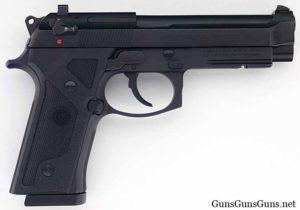Beretta 96 Vertec blue right side photo