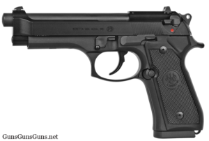 Beretta M9 22LR left side photo
