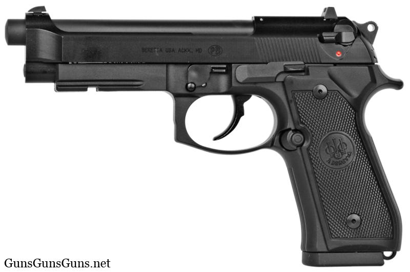 Beretta M9A1 22 left side photo