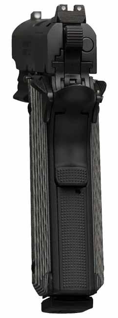 Browning Black Label Pro Compact black rail rear photo