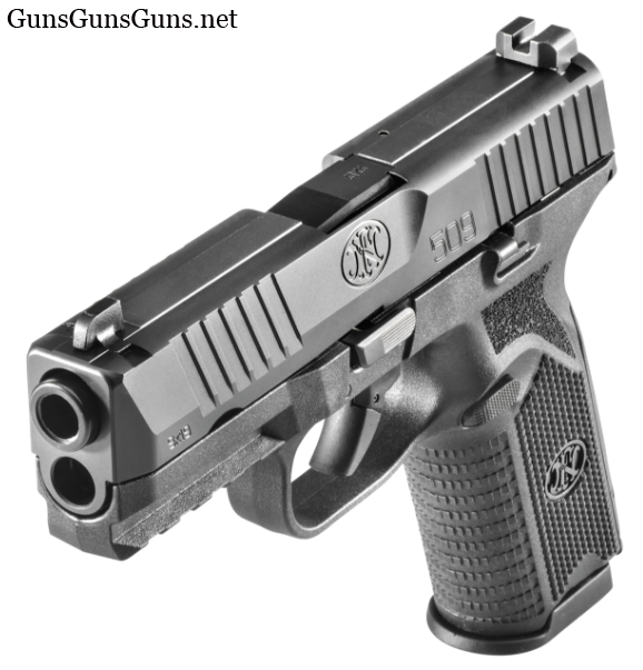 FN 509 left front photo