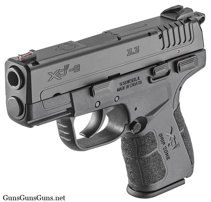 Springfield Armory XDe left front photo