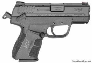 Springfield Armory XDe right side photo