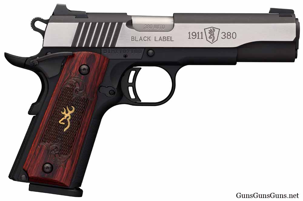 Browning Black Label 1911-380 Medallion Pro right side photo