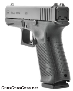 Glock 19 Gen5 left rear photo