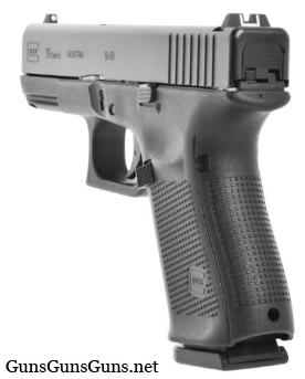 Glock 19 Gen5 left rear photo