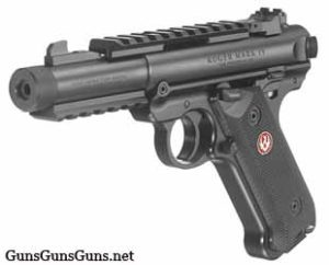 Ruger Mark IV Tactical left front photo
