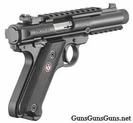 Ruger Mark IV Tactical right rear photo