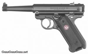 Ruger Mark IV Standard 4inch left side photo