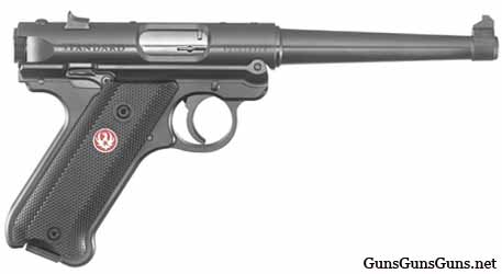 Ruger Mark IV Standard 6inch right side photo