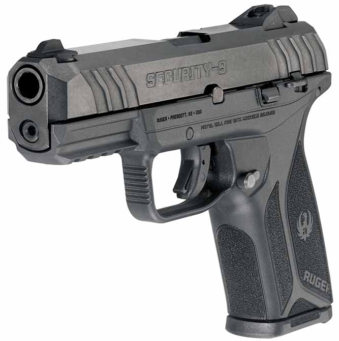 Ruger Security 9 left front photo