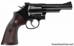 Smith Wesson Model 19 right side photo