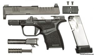 Springfield Armory Hellcat disassembled photo